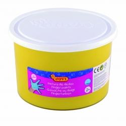 Bote pintura de dedos Jovi 500 ml color amarillo