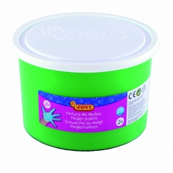 Bote pintura de dedos Jovi 500 ml color verde
