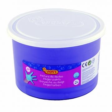 Bote pintura de dedos Jovi 500 ml color violeta