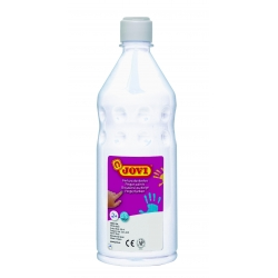 Botella pintura de dedos Jovi 750 ml color blanco
