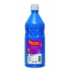 Botella pintura de dedos Jovi 750 ml color azul