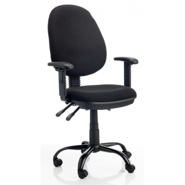 Silla de oficina contacto permanente 6451 Toupa negro