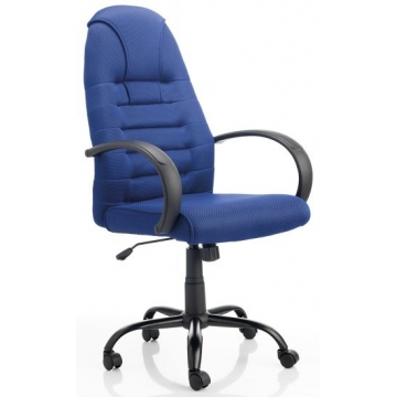 Silla de oficina de mecanismo basculante Morcego 6457 azul