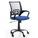 Silla de oficina de mecanismo basculante 6474 Tebezo azul