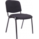 Pack de 4 sillas de tela Serpe 6465 negro