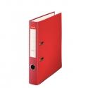 Archivador de palanca de PP de plástico forrado de Esselte Folio 50 mm Rojo