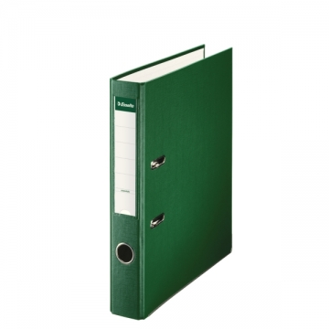 Archivador de palanca de PP de plástico forrado de Esselte Folio 50 mm Verde