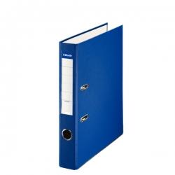 Archivador de palanca de PP de plástico forrado de Esselte Folio 50 mm Azul