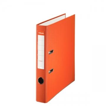 Archivador de palanca de PP de plástico forrado de Esselte Folio 50 mm Naranja