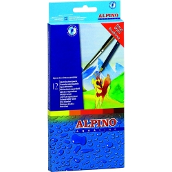 12 Lápices acuarelables Aqualine Alpino
