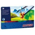 36 Lápices acuarelables Aqualine Alpino