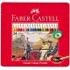 Lápices de colores Faber Castell estuche de metal de 24 lápices