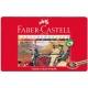 Lápices de colores Faber Castell estuche de metal de 36 lápices