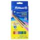 Lápices de colores Pelikan triangular estuche de 12