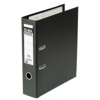 Archivador de palanca Elba forrado PVC con rado A4 negro 50 mm
