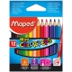Lápices de colores Maped Color Peps mini estuche de 12