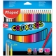 Lápices de colores Maped Color Peps estuche de 24