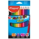 Lápices de colores Maped Color Peps maxi estuche de 12