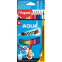 Lápices acuarelables Maped Color Peps estuche de 12