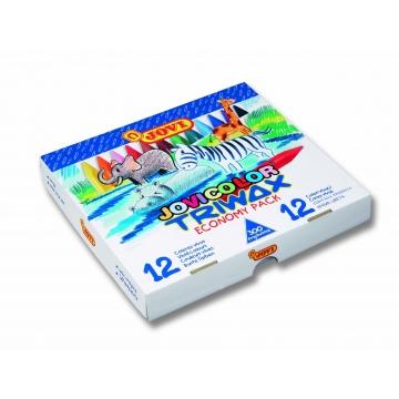 Lapices cera Jovicolor Triwax Caja Económica 300 unidades