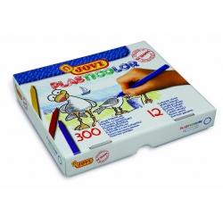 Lapices cera Plasticolor caja economica 300 u. surtidas