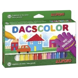 12 Ceras color Dacs colores surtidos
