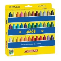 36 Ceras Dacs estuche colores surtidos