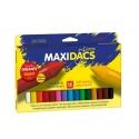 15 Ceras Dacs maxi estuche colores surtidos
