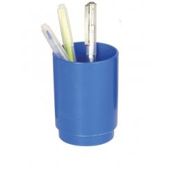 Porta lapices Archivo 2000 plastico redondo azul