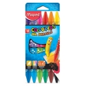 Ceras Maped Oil Pastel Color Peps estuche de 12