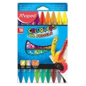 Ceras Maped Oil Pastel Color Peps estuche de 18