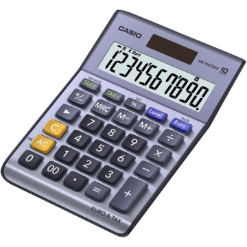 Calculadora sobremesa Casio 10 digitos MS 100 TER