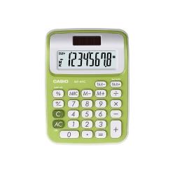 Calculadora sobremesa Casio 8 digitos MS 6NC verde