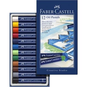 Ceras pastel faber goldfaber studio oil caja de 12