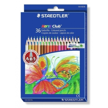 36 Lápices de colores Staedtler 144 Noris Club