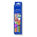 6 Lápices de colores Staedtler 127 Noris Club Triplus Slim