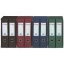 Módulo archivadores Pardo 2 unidades forrado PVC folio verde